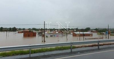 La Nación / Inundación en Concepción: ayuda para damnificados llega esta tarde