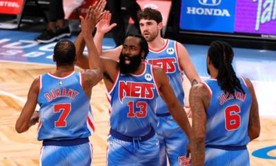 Brooklyn Nets supera a Orlando Magic en el debut de Harden