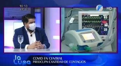 """""""Estamos a pasos de colapso"""", afirma director de región sanitaria"""
