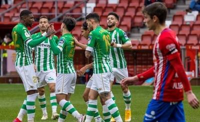 HOY / El Betis de Tony Sanabria avanza en la Copa del Rey