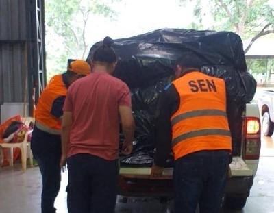 HOY / SEN gestiona asistencia para familias afectadas por inundaciones en Concepción