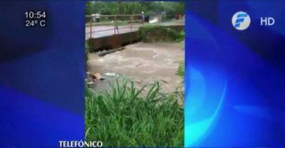 Concepción: Intensa lluvia causó la inundación de unas 5.000 casas