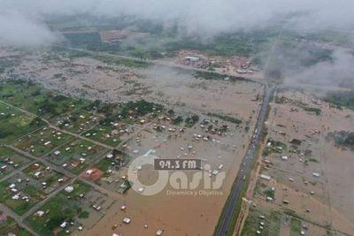 SEN asistirá a las 5.000 familias afectadas por inundación en Concepción