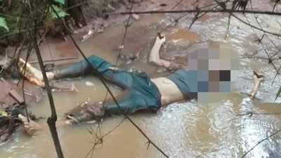 HALLAN cuerpo de hombre en MEDIO de un ARROYO en Minga Guazú