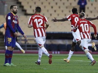 Athletic vence a Barcelona y se queda con la Supercopa de España