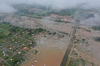 LLUVIA INCESANTE INUNDA HOGARES DE 5.000 FAMILIAS EN CONCEPCIÓN