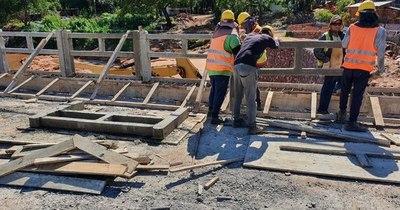 La Nación / Puente de San Antonio será inaugurado en febrero
