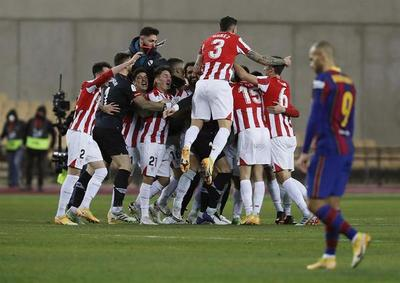 Athletic de Bilbao conquista la gloria en la prórroga