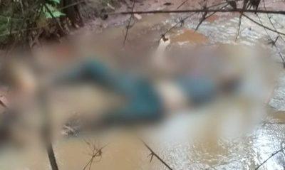 Hallan cadáver de un hombre en arroyo
