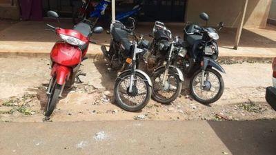 Policía detuvo a ladrón de moto y recupera cuatro motocicletas en Pedro Juan