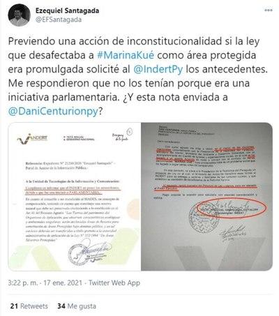 """Denuncian respuesta """"falsa"""" del Indert ante pedido de información pública"""
