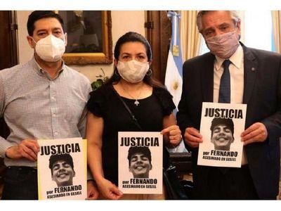 Piden justicia a un año de la muerte de Fernando Báez