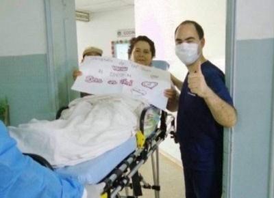 Mujer vence al covid tras casi dos meses en Terapia Intensiva