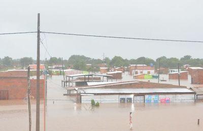 Lluvia de 297 mm deja bajo agua a Concepción