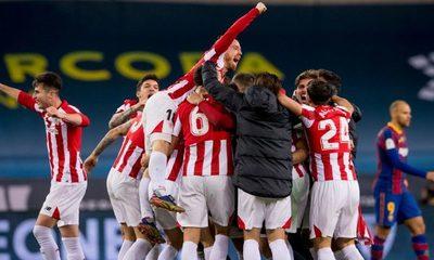 Athletic Bibao vence al Barcelona y conquista la Supercopa de España