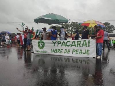 Ypacaraí se levantó contra peaje mal ubicado dentro de la ciudad