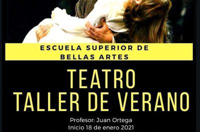 ESBA ofrece taller de teatro