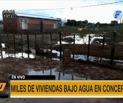 Así amanece Concepción tras inundación