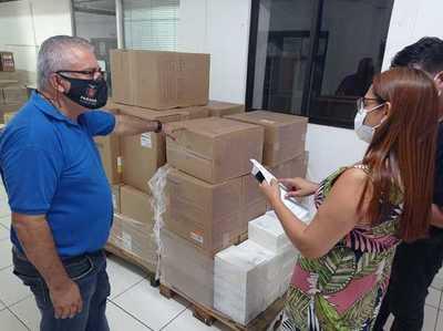 Covid-19: Foz recibió insumos para la campaña de vacunación