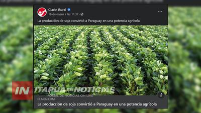 PRESTIGIOSO DIARIO ARGENTINO RESALTA EL POTENCIAL SOJERO PARAGUAYO