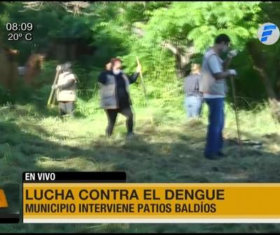Intervienen patios baldíos en Asunción