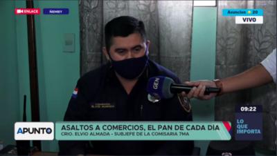 HOY / Ola de asaltos a comercios en la ciudad de Ñemby