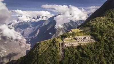 Avistan osos de anteojos en ciudadela inca de Machu Picchu