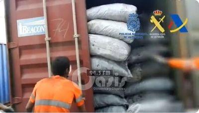 Caen  en España más de dos toneladas de cocaína , enviados desde  Paraguay