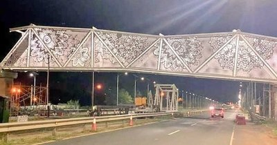 La Nación / Viceministro justifica su condición de juez y parte en investigación del polémico puente de ñandutí
