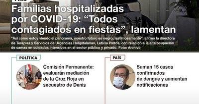 La Nación / LN PM: Las noticias más relevantes de la siesta del 18 de enero