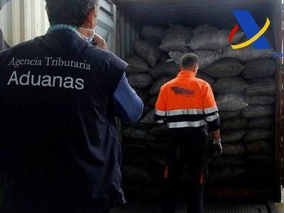 Cae red que llevaba cocaína de Paraguay y decomisan 2 toneladas