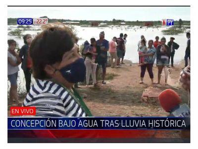 Inundación en Concepción: Inmobiliaria construirá un puente para desagüe