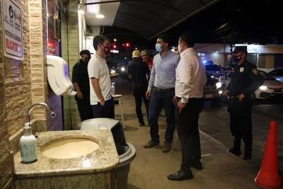 Comuna Ovetense realizó controles nocturnos. – Prensa 5