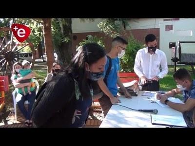 MUNICIPIO ENCARNACENO CUMPLE CON PAGO DE APORTE ECONÓMICO PARA JÓVENES