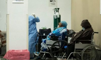 Hasta en sillas internan a pacientes en el Hospital Nacional de Itauguá