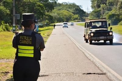 Patrulla Caminera comenzó 'cacería' de conductores con documentaciones vencidas