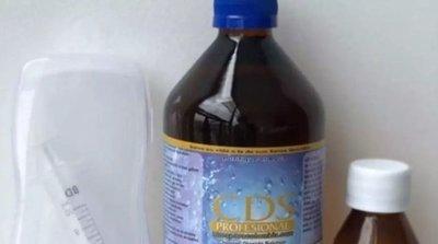 Dióxido de cloro está contraindicado para la salud humana