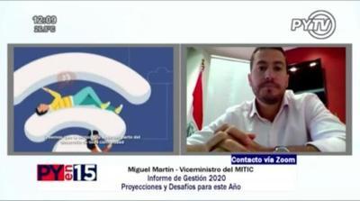 Mitic avanzará en la digitalización de trámites durante el 2021