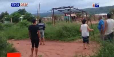 Batalla campal entre vecinos en Caaguazú