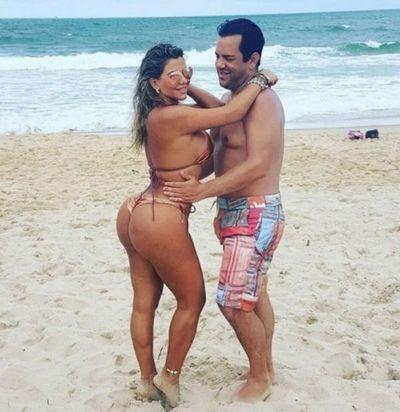 Marly Figueredo se relaja en exóticas playas mientras chicanea su proceso por lavado de dinero