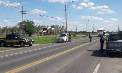 Patrulla Caminera sancionó a 38 conductores por documentos vencidos