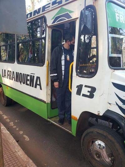 Buses de Franco cambian de itinerario en microcentro de Ciudad del Este