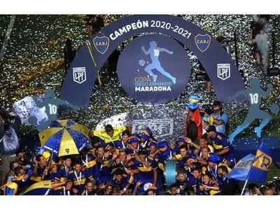 Boca gana  Copa Maradona y alcanza a River  en títulos