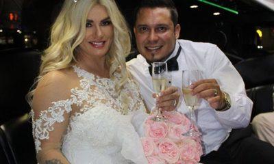 Lilian Ruíz y su marido arman escándalo en callles de yanquilandia (Video)