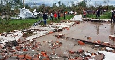 La Nación / Organizan reconstrucción de viviendas, en Misiones