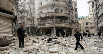 """La Nación / Turquía, Rusia e Irán por un """"alto el fuego duradero"""" en Siria"""