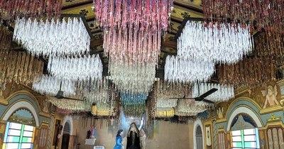 La Nación / Los rosarios para Chiquitunga fueron puestos en exposición