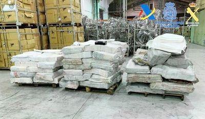 Sospechosa omisión de Aduanas en envío de 2 Ton. de cocaína a España