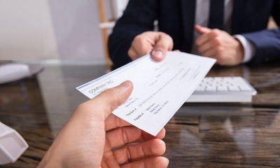 Cae cantidad de cheques sin fondos en el sistema