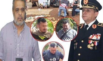"Comandante Resquín protege a ""polibandis"" de Investigaciones – Diario TNPRESS"